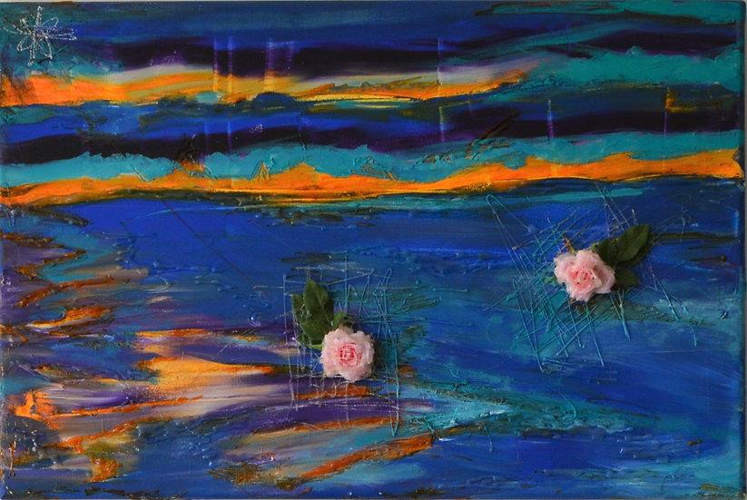 Der Sonnenuntergang der Rosen