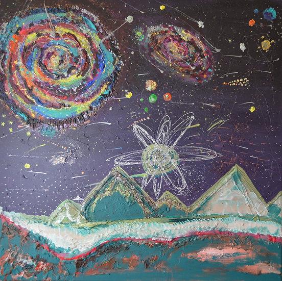 Ägypten und der Sternen Himmel
