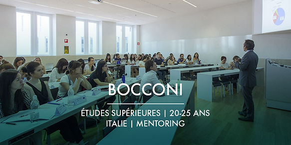 La Fondation Ardian et Bocconi + Bourses d'études et mentoring