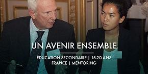 La Fondation Ardian et Un Avenir Ensemble + Mentoring