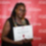 Nylaan Postel, lauréate du programme d'entrepreneuriat 3,2,1 de la Fondation Ardian