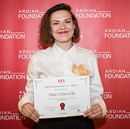 Léna Lélu, winner of the 3,2,1 program for entrepreneurship