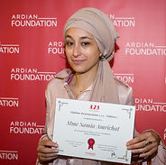 Samia Amrichat, winner of the 3,2,1 program for entrepreneurship