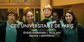 La Fondation Ardian et la Cité Universitaire de Paris + Bourses d'études et Mentoring
