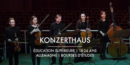 La Fondation Ardian et Konzerthaus Berlin + Bourses d'études