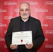 Patrick Héraudeau, winner of the 3,2,1 program for entrepreneurship