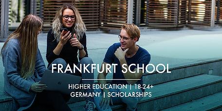 Ardian Foundation scholarships Frankfurt School