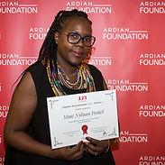 Nylaan Postel, winner of the 3,2,1 program for entrepreneurship