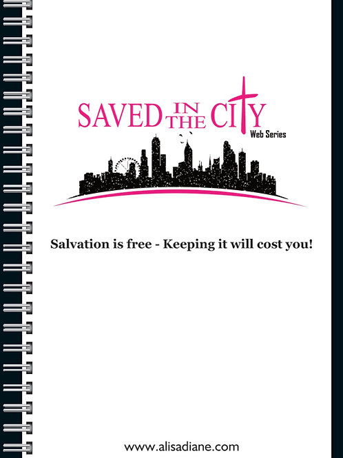 Saved In The City Spiral Notebook