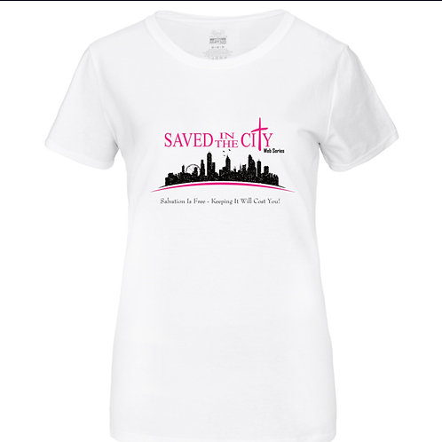Official Saved In The City Web Series T-Shirt