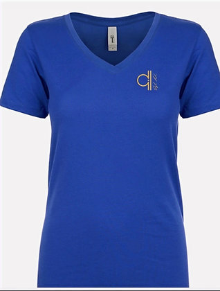 Womens V-neck Dylan Lock t-shirts