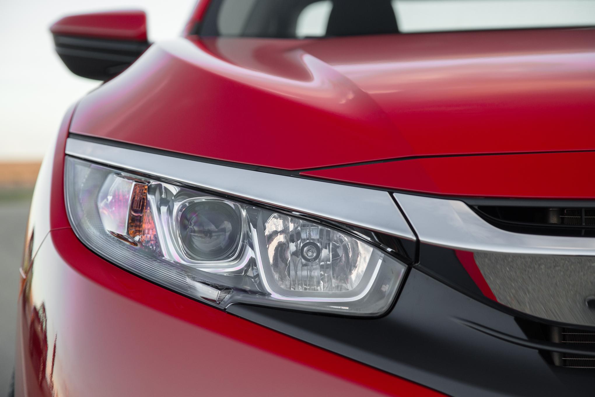 2016 Honda Civic Lx Front Headlight