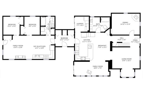 LEVEL 1 & GARDEN SUITE | 1,894 Sq.Ft.