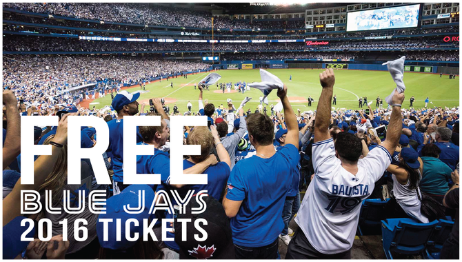 Free Blue Jays Tickets | Buy, List or Sell