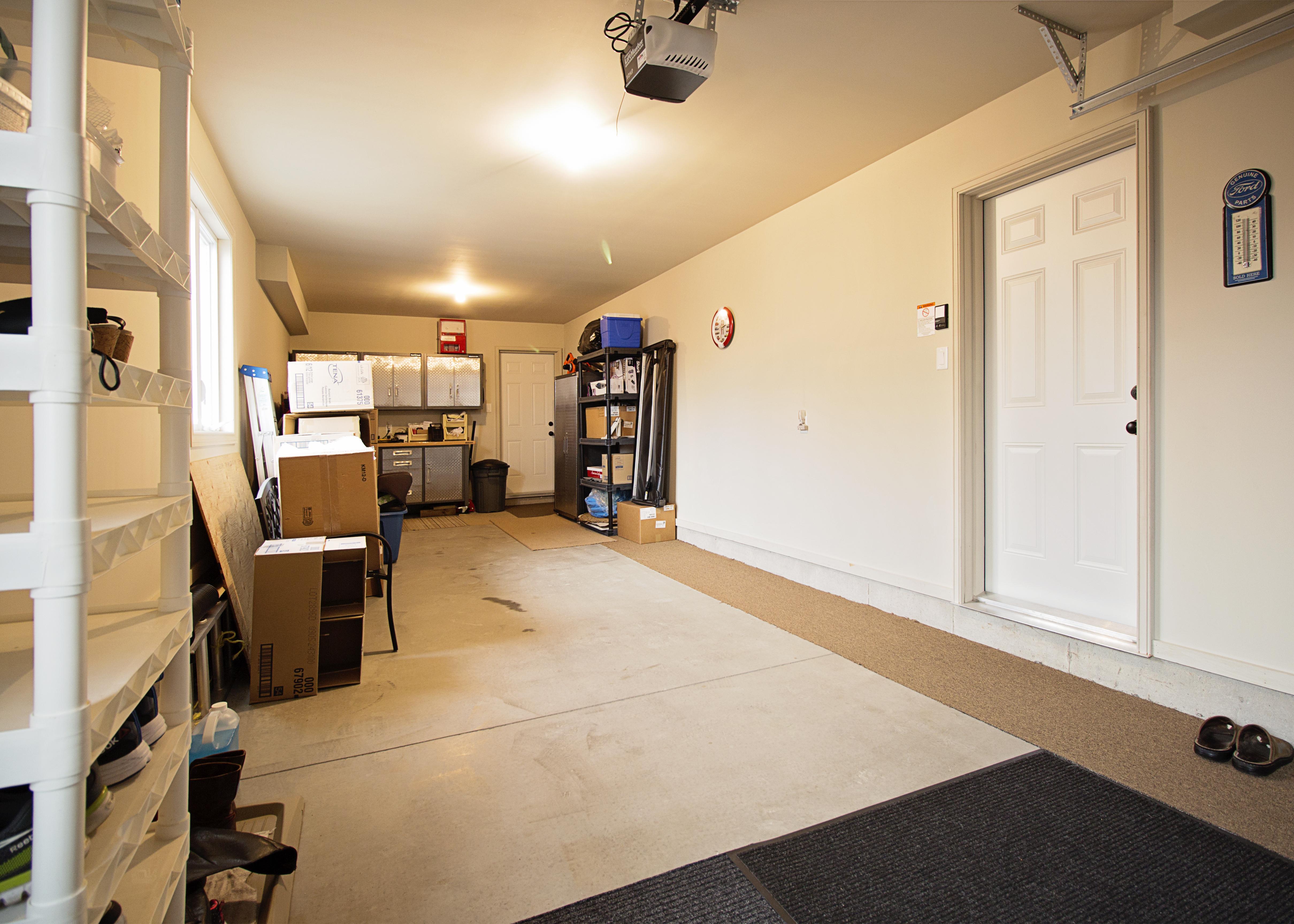 Double-Deep Garage