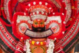 Theyyam Performer