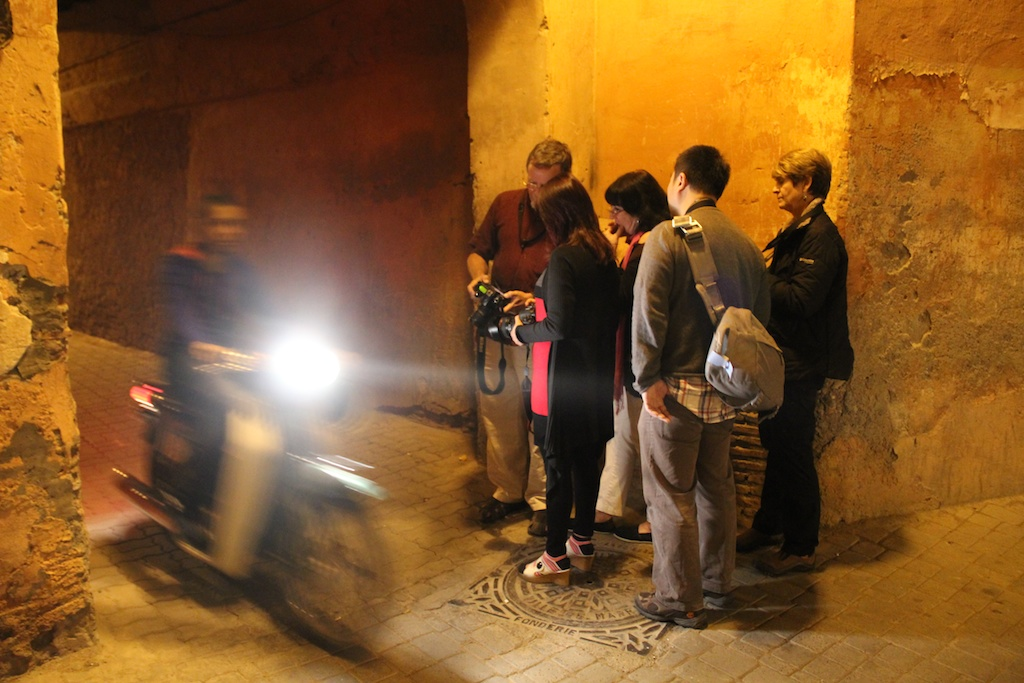 Street Instruction in Morocco