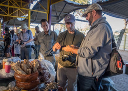 Tasting Local Goods in Namibia
