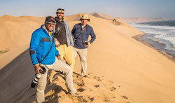 Atop the Dunes in Namibia