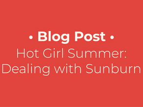 Dealing with Sunburn