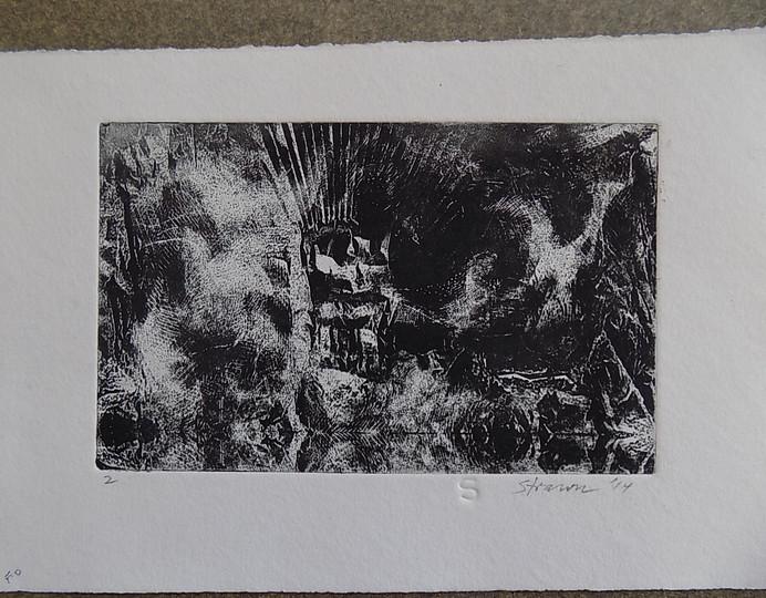 Mel Strawn Subterranian #2  2014