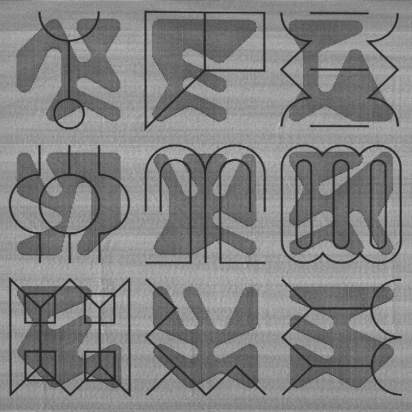 Polyrhythmic Glyphs
