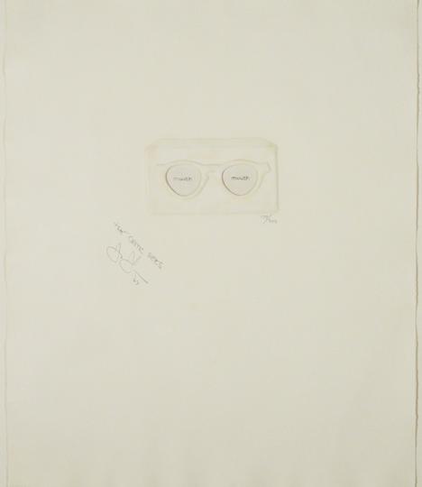 Jasper Johns, The Critic Sees