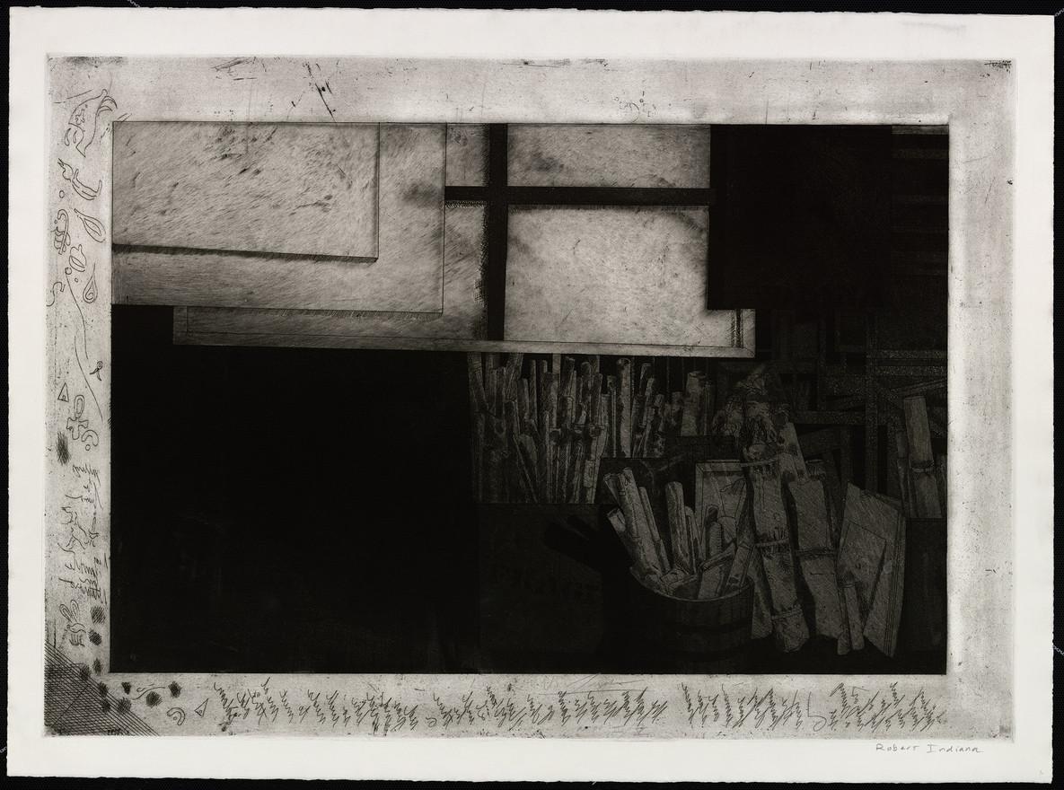 Studio of Robert Indiana