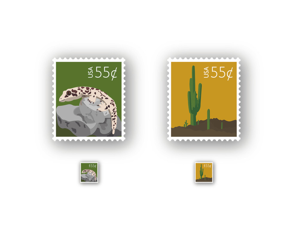 Audrey Dobbs, Capturing Experience Stamps