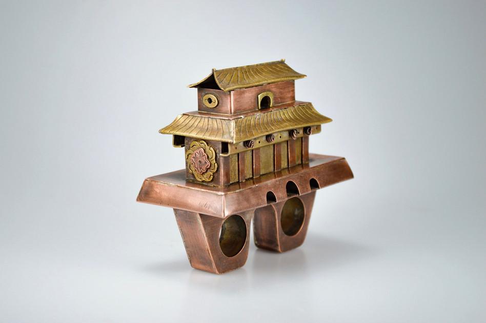 Liu Huizi, Hollow form ring