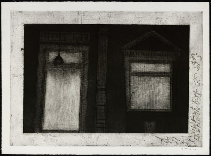 Studio of Jasper Johns