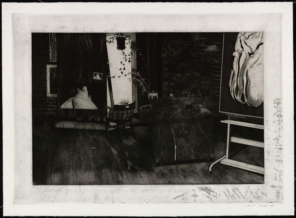 Studio of Lowell Nesbitt