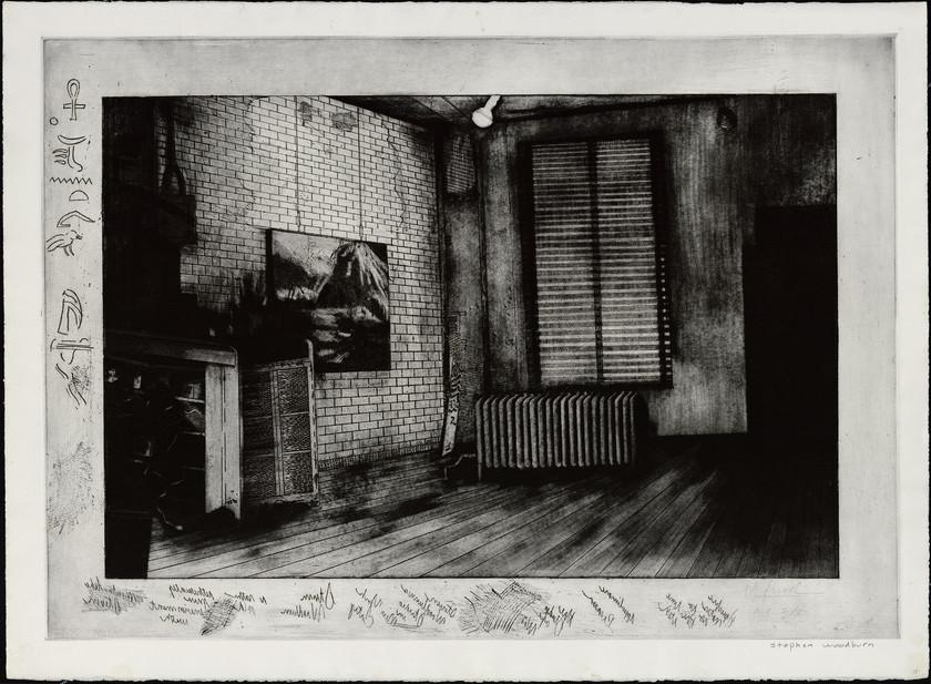Studio of Stephen Woodburn