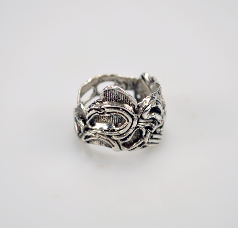 Jessica Dupon, Lace Casted Band Ring
