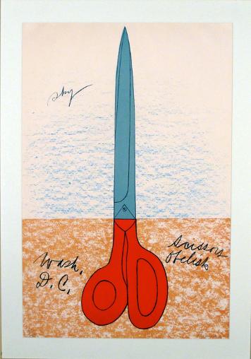 Claes Oldenburg, Suggested Monument for Washington, D.C.
