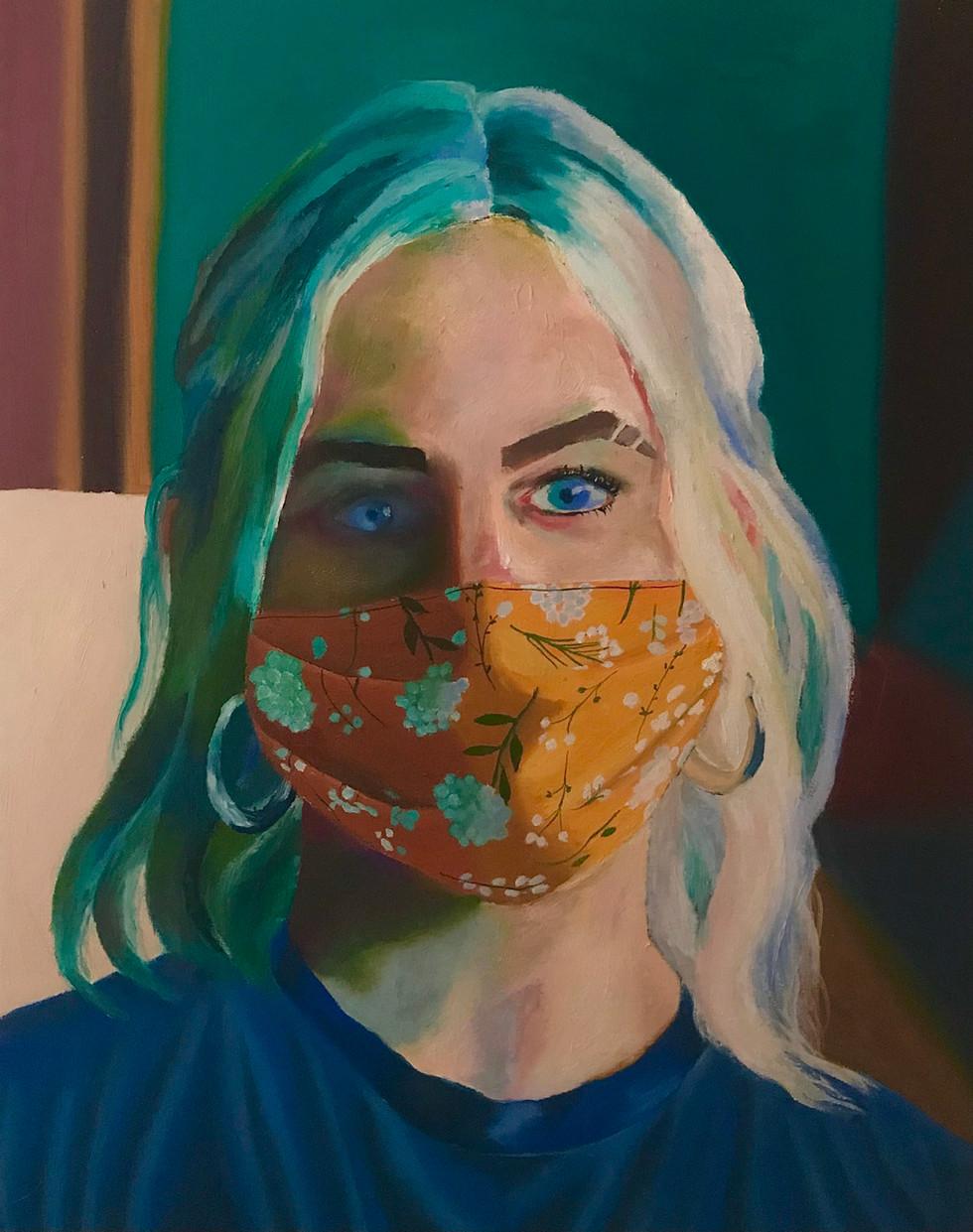 Elizabeth Bergeon, Portrait in a Pandemic