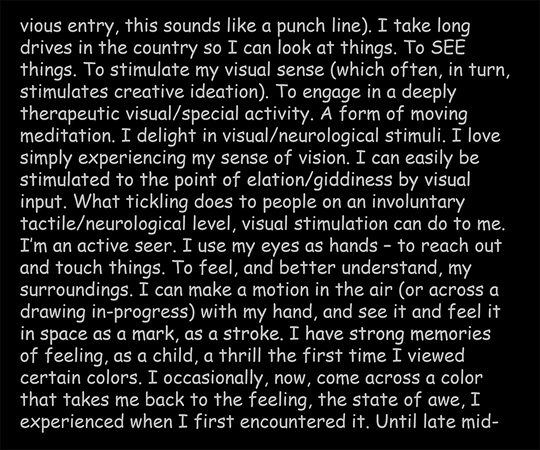 Being and Autism, text panel 6