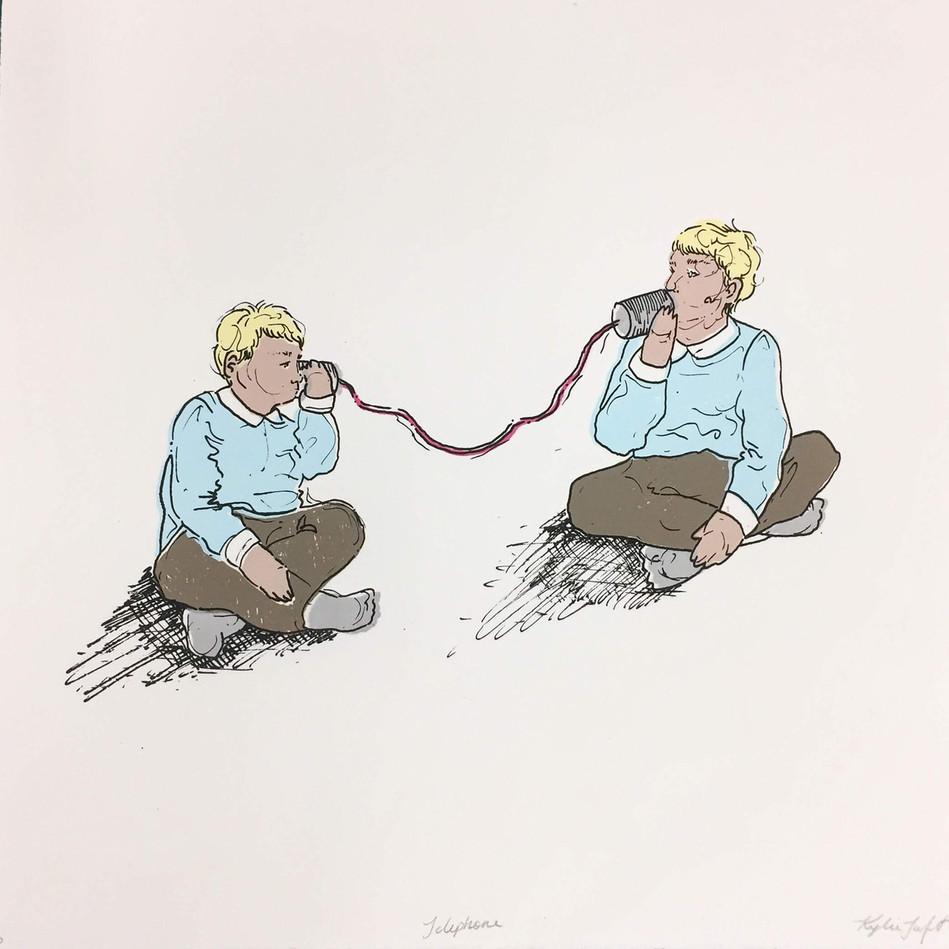 Kylie Taft, Telephone