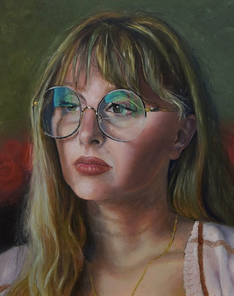 Madison McAllister, Self in Oil #1