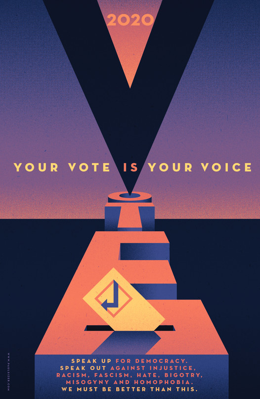 Your Vote Is Your Voice 2020