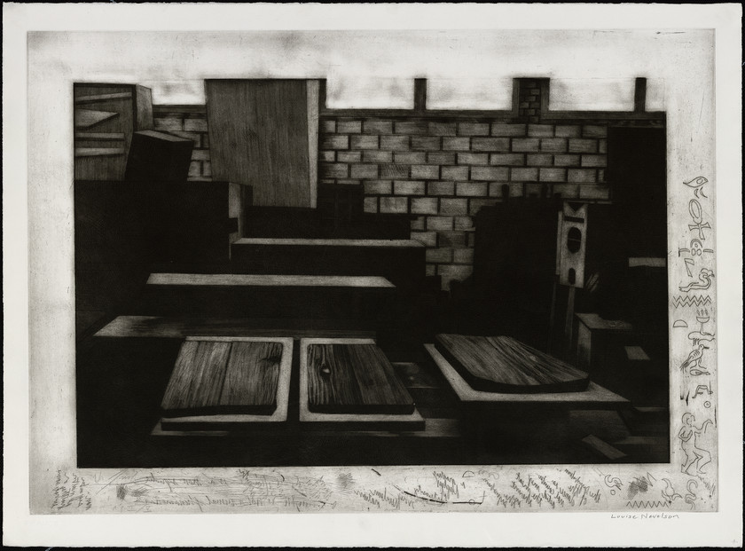 Studio of Louise Nevelson