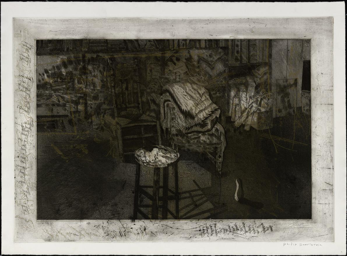 Studio of Philip Pearlstein