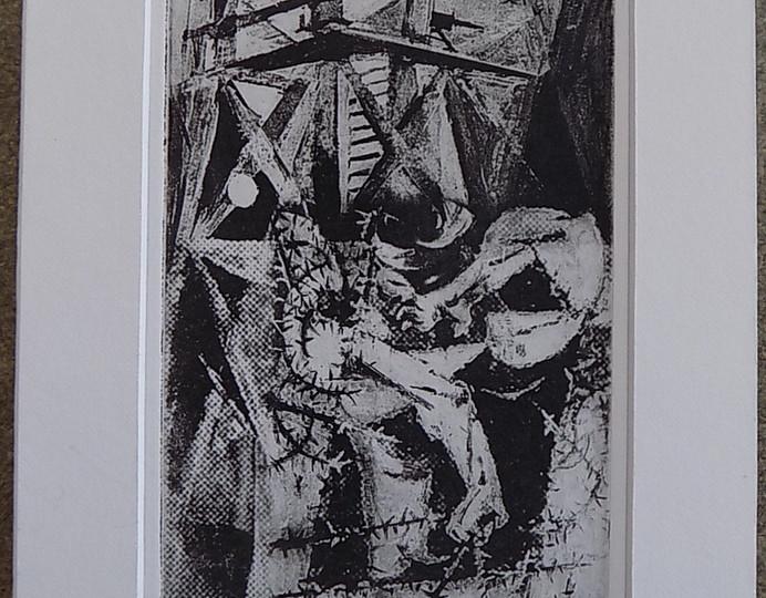 Mel Strawn Escape PW 2015 1952 Drawing