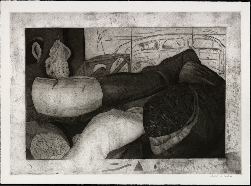 Studio of Claes Oldenberg