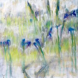 Iris du Japon 80x80
