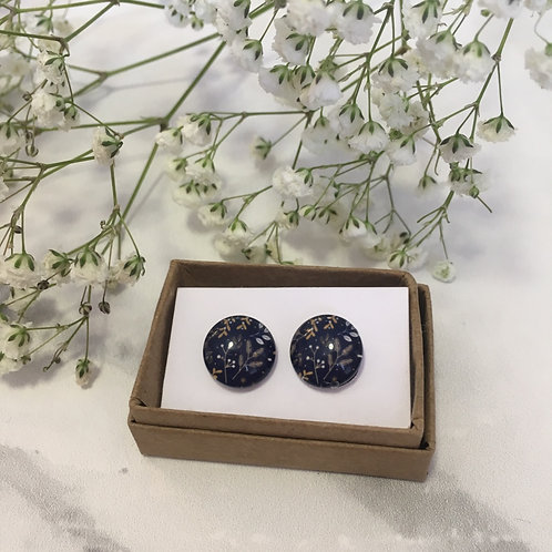 'Harvey' Glass Earrings