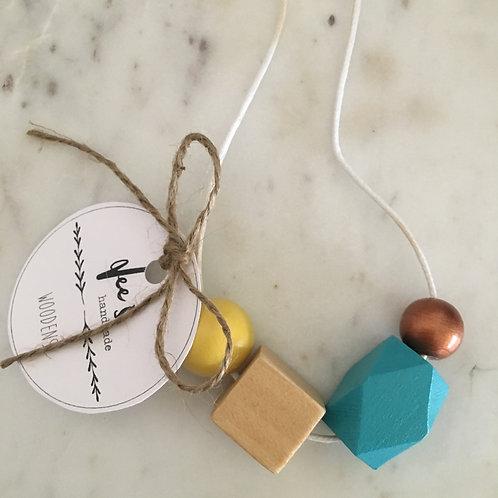 'Imogen' (CHILD) Wooden Necklace