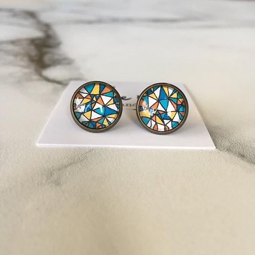 'Amy' Glass Earrings