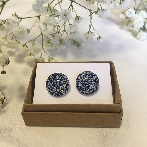 'Wilkie' Glass Earrings