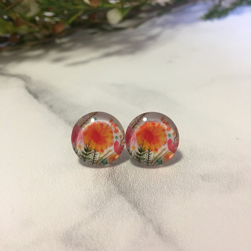'Drew' Glass Earrings